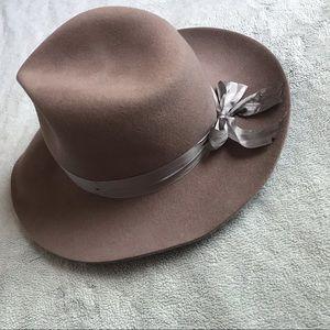 Lack of Color Veto Wool Fedora Silk Ribbon Hat